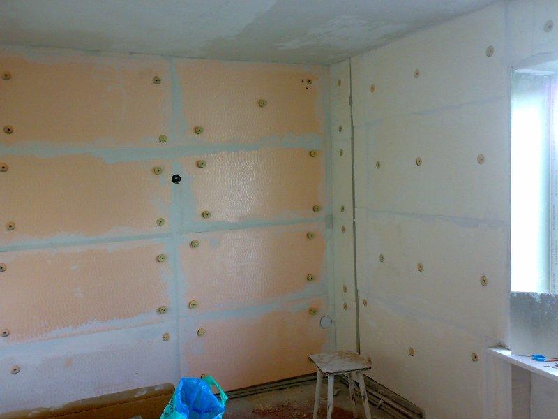 Теплоизоляция стен в квартире своими руками